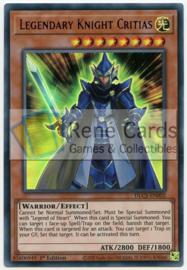Legendary Knight Critias - 1st. Edition - DLCS-EN002 - Purple