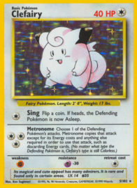 Clefairy - BaSet 5/102 - Unlimited