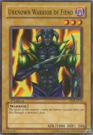 Unknown Warrior of Fiend - Unlimited - SDK-E016