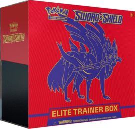 Pokemon - Sword & Shield - Elite Trainer Box - Zacian
