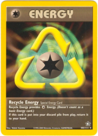 Recycle Energy - Unlimited - NeoGen - 105/111