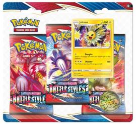 Pokemon - Battle Styles -  3-Blisterpack - Jolteon