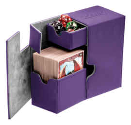 Flip´n´Tray Deck Case 80+ - Standard Size - XenoSkin - Purple