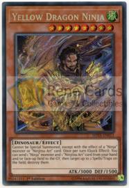 Yellow Dragon Ninja - 1st. Edition - SHVA-EN013