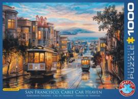 San Francisco Cable Car Heaven  (1000)