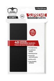Supreme Sleeves - Oversized - Black