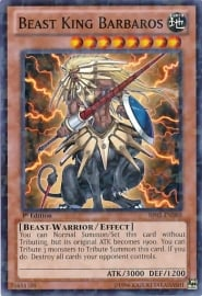 Beast King Barbaros - 1st Edition - BP02-EN080 - MF