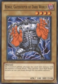 Renge, Gatekeeper of Dark World - 1st Edition - SDGU-EN005