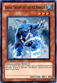Shock Troops of the Ice Barrier - 1st. Edition - HA03-EN018