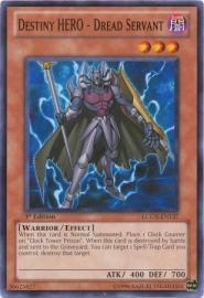 Destiny HERO - Dread Servant - Unlimited - LCGX-EN137