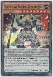 Superheavy Samurai General Jade - Unlimited - BOSH-EN010