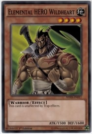 Elemental HERO Wildheart - Unlimited - SDHS-EN011