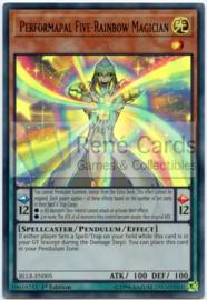 Performapal Five-Rainbow Magician - 1st. Edition - BLLR-EN005