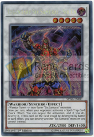 Legendary Six Samurai - Shi En - 1st. Edition - SPWA-EN011