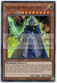 Legendary Knight Critias - 1st. Edition - DLCS-EN002 - Blue