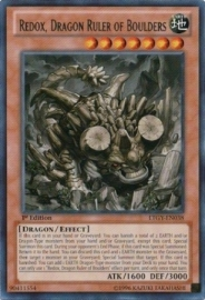 Redox, Dragon Ruler of Boulders - 1st Edition - LTGY-EN038