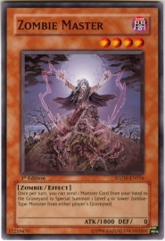 Zombie Master - 1st Edition - SDZW-EN016