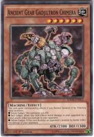 Ancient Gear Gadjiltron Chimera - 1st Edition - SDGR-EN012
