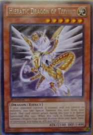 Hieratic Dragon of Tefnuit - Unlimited  - GAOV-EN022