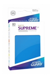 Supreme UX Sleeves - Standard Size Matte - Royal Blue