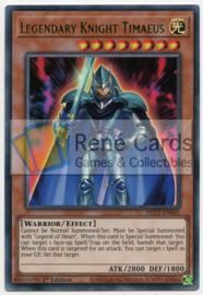 Legendary Knight Timaeus - 1st. Edition - DLCS-EN001 - Green