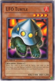 UFO Turtle - 1st Edition - 5DS1-EN016