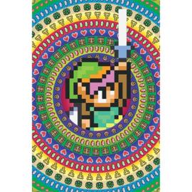 The Legend of Zelda - Link - 8 Bit (105)