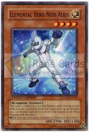 Elemental Hero Neos Alius - Limited Edition - GLD2-EN028