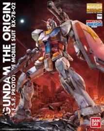 RX-78-02 Gundam The Origin MG 1/100