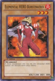 Elemental HERO Burstinatrix - Unlimited - LCGX-EN003