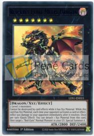 Red-Eyes Flare Metal Dragon - 1st. Edition - LDS1-EN015 - Blue