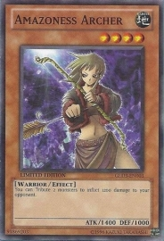 Amazoness Archer - Limited Edition - GLD3-EN003