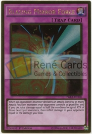 Blazing Mirror Force - 1st Edition - PGL3-EN100