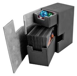 Flip´n´Tray Deck Case 80+ - Standard Size - XenoSkin - Black