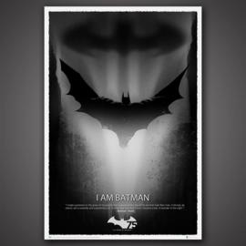 Batman 75th Anniversary Art Print