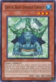 Crystal Beast Emerald Tortoise - Unlimited - LCGX-EN157