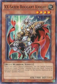 XX-Saber Boggart Knight - 1st. Edition - SP15-EN006 - SF