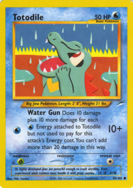 Totodile - Unlimited - NeoDes - 85/105