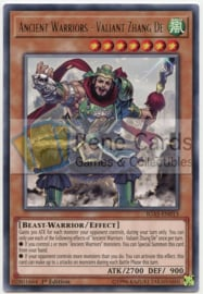Ancient Warriors - Valiant Zhang De - Unlimited - IGAS-EN013