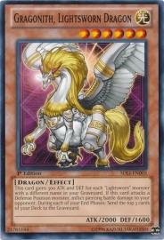 Gragonith, Lightsworn Dragon - 1st Edition - SDLI-EN005