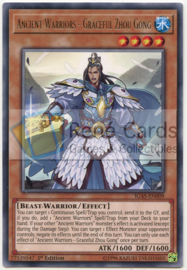 Ancient Warriors - Graceful Zhou Gong - Unlimited - IGAS-EN009