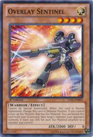 Overlay Sentinel - 1st. Edition - LVAL-EN005