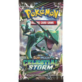Pokemon - S&M - Celestial Storm - Booster Pack - Rayquaza