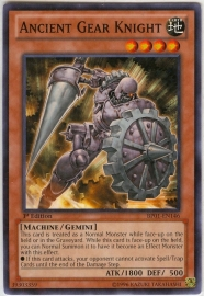 Ancient Gear Knight - Unlimited - BP01-EN146 - SF