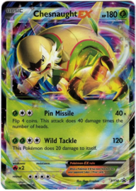 Chesnaught EX - XY18 - Promo - Kalos Power Tins