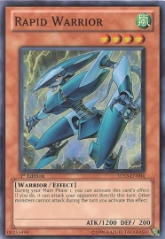Rapid Warrior - 1st Edition - 5DS3-EN004