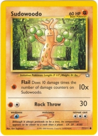 Sudowoodo - Unlimited - NeoGen - 77/111