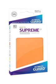 Supreme UX Sleeves - Standard Size Matte - Orange