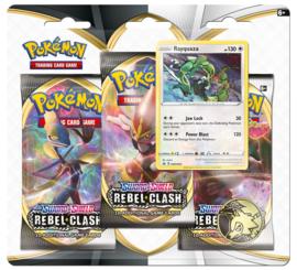 Pokemon - S&S - Rebel Clash - 3 Pack Blister - Rayquaza