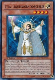 Lyla, Lightsworn Sorceress - 1st Edition - SDDC-EN021